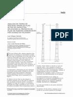 Análisis en Teoria de Segundo Orden de Pilas Altas de Viaductos