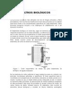 Filtros biológicos de agua