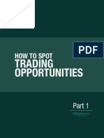 How to Spot Trading Opportunities