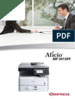 Catálogo Ricoh MP 301
