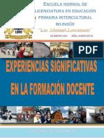 """Revista """"Experiencias Significativas"""""""