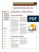 Evaluación Docente y su utilidad en la práctica docente