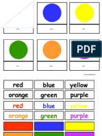 Color Match Activity