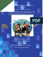 Manual Inventario de Burnout Para Los Profesionales de La Salud