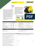 Idropulitrice a caldo Karcher HDS 550 C Eco