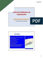 1A Anexo Selección Metodos de Explotación