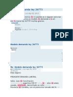 Modelo Demanda Ley 26773