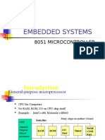 Embedded Systems-8051 Microcontroller