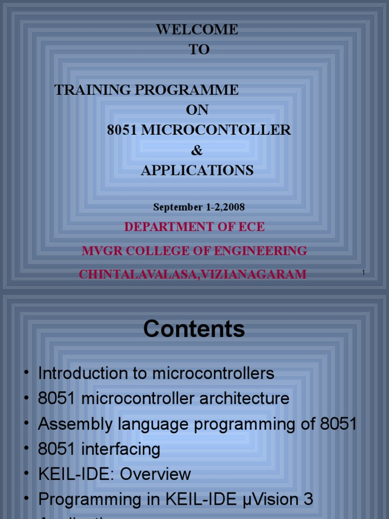 8051 Microcontroller-day1 | Microcontroller | Embedded System