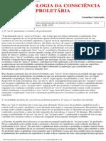 Castoriadis, c - Fenomenologia Da Consciência Proletária