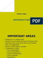 Capital Gains Introduction