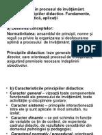 Principiile didactice