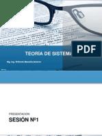 Teoria de Sistemas_Sesion 1-3-2014