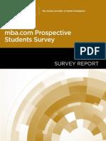 2014 Surveyreport Mba Com Prospective Web Release