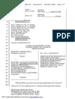Microsoft Corporation v. Kevin Pira - Document No. 16