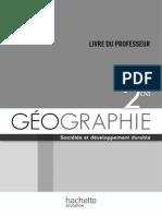 Geographie - Hachette
