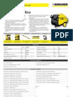Idropulitrice a caldo Karcher HDS 695-4 M Eco