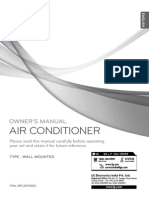 Owners Manual Installation Manual CG CR
