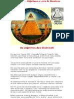 Illuminati - Objetivos e Lista de Membros
