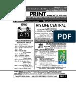 JULY 5 2015 _ A.D newsletter