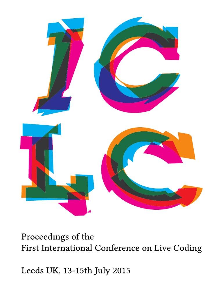 Iclc2015 Proceedings | Computer Programming | Human–Computer