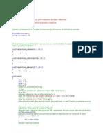 Programare Orientata pe Obiect Seminarii