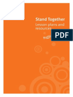 Stand Together Lesson Plans Complete Set