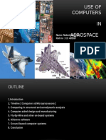 Use of Computers in Aerospace