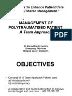 Polytrauma - A Team Approach