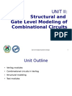 Unit II - Structural and Gate Level Modeling