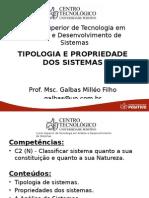 Tipologia e Propriedade Dos Sistemas(1)