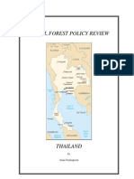 national forest policy review-thailand