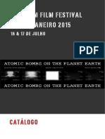 Catálogo Uranium Film Festival Rio de Janeiro 2015