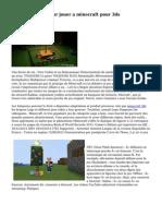 10 explications pour jouer a minecraft pour 3ds