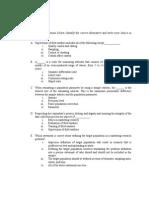 BRM End-term Important Topics - Copy