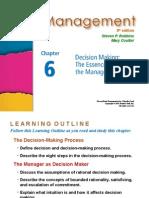 Management Robbins PPT06