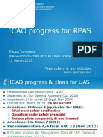 EASA-ICAO RPAS Progress Ppt 2012 Rev 2