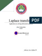 Abiy; Laplace Transform
