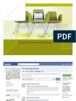 Facebook Social Media Networking