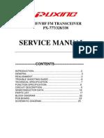 Px-777p Service Manual