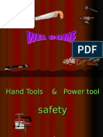 Hand- Power Tools Safety