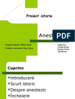 Proiect Istorie - Anestezicul