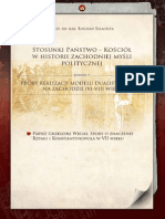 Państwo(Biozancjum) a Kosciół(Rzym) (VI - VIII)