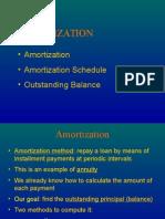 Amortization & Sinking Fund