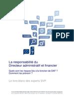 Livre Blanc Responsabilité Du Daf