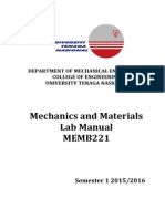 Memb221 Lab Manual Sem 1 2015 2016