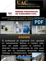 Charla de Ingenieria Civil-uac