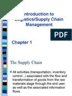 1. Introduction to Logistics-SC