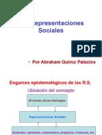 Las Representaciones Sociales