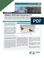 GFI Asian Equity Index Volatility